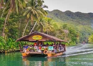 Loboc riverwatch floating restaurant loboc river bohol philippines 069